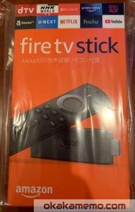 視聴対応機器:Fire TV Stick